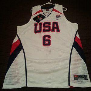 Vintage Nike Lebron USA Olympic jersey